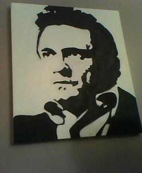 Johnny Cash by sashymashy